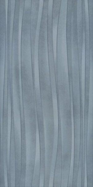 Керамическая плитка 30х60 Маритимос голубая структура обрезной 11143R