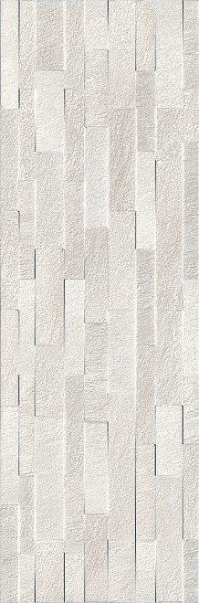 Керамическая плитка 30х89,5 Гренель серый светлый структура обрезной 13054R
