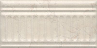 Бордюр 20x9,9 Резиденция беж структурированный 19027\3F