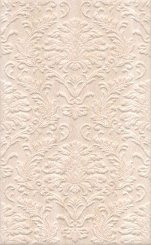Керамическая плитка 25х40 Пантеон беж структура 6338