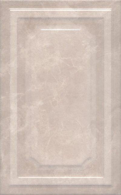 Керамическая плитка 25х40 Гран Пале беж панель 6353