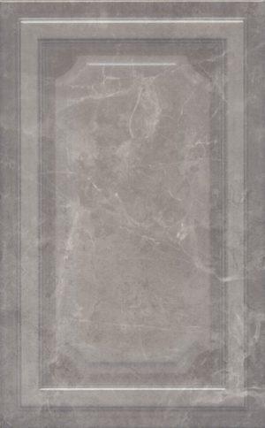 Керамическая плитка 25х40 Гран Пале серый панель 6354