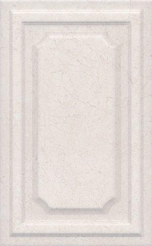 Керамическая плитка 25х40 Сорбонна беж панель 6356