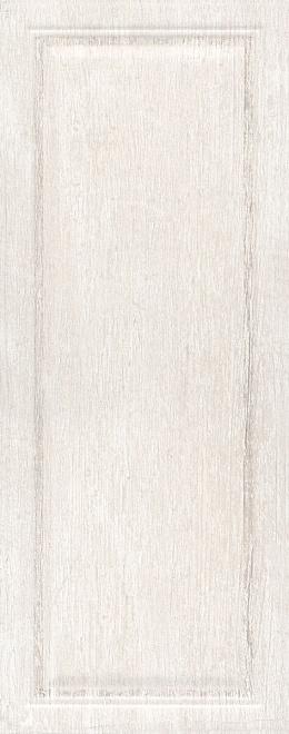 Керамическая плитка 20х50 Кантри Шик белый панель 7191