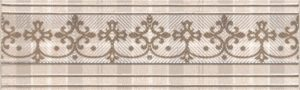 Керамический бордюр 20х5,7 Традиция AD\A182\8236