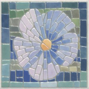 Керамическая вставка 10x10 Сад Моне лаппатированный AD\A366\SG9502L