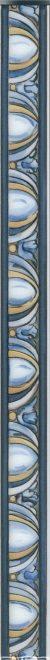 Керамический бордюр 40x3 Площадь Испания HGD\A350\15050