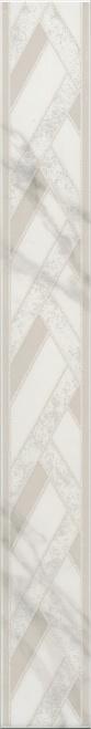Керамический бордюр 50х6,3 Алькала MLD\A99\7198