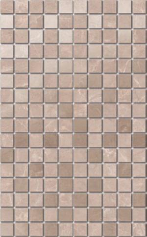 Керамический декор мозаичный 25х40 Гран Пале беж мозаичный MM6360