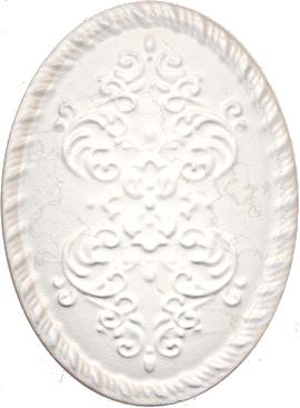 Керамический декор 12х16 Белгравия светлый OBA004