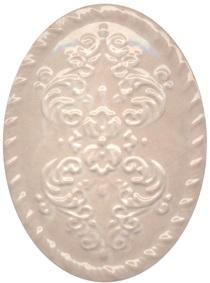 Керамический декор 12х16 Версаль беж OBA009