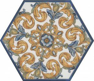 Керамический декор 29x33,4 Площадь Испания OS\A13\SG2700