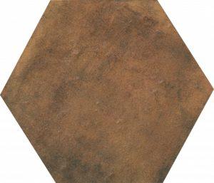 Керамический гранит 29x33 Площадь Испания коричневый SG27006N