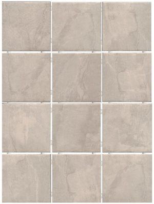 Керамический гранит 9,9х9,9 Дегре беж, полотно 30х40 из 12 частей 1298