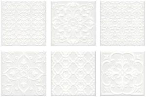 Керамическая плитка 20х20 Суррей белый 5226