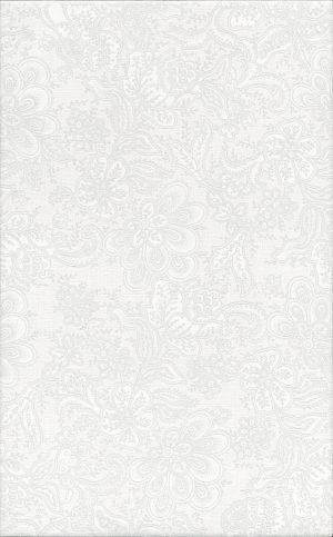 Керамическая плитка 25х40 Ауленсия серый орнамент 6385