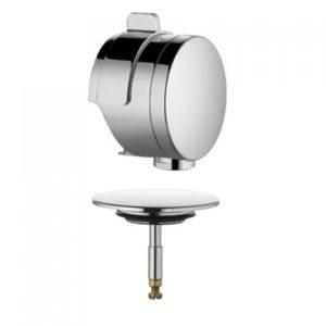 Внешняя часть сифона Rotexa для ванны с системой налива и слива-перелива Kludi 7085605-00