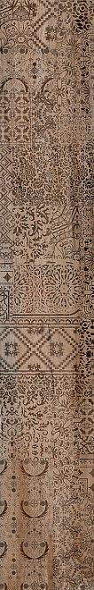 Керамический гранит 30х179 Про Вуд беж темный декорированный обрезной DL550300R