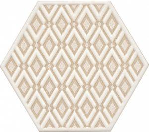 Керамический декор 20х23,1 Лафайет HGD\A289\24001