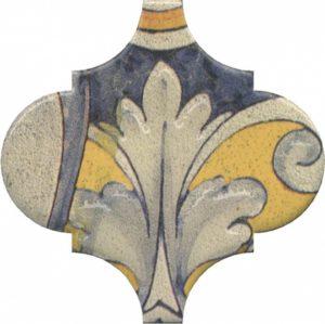 Керамический декор 6,5x6,5 Арабески котто орнамент OP\A163\65000
