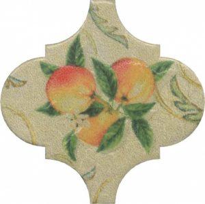 Керамический декор 6,5x6,5 Арабески котто орнамент OP\A168\65000