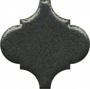 Керамический декор 6,5x6,5 Арабески котто металл OS\B45\65001