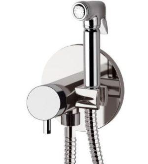 Смеситель гигиенический с ручным душем встраиваемый DANIEL SUVI S20645SCR