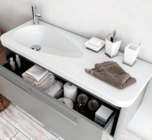 Умывальник мебельный белый 120 cm CREAVIT DAMLA TP120.00000
