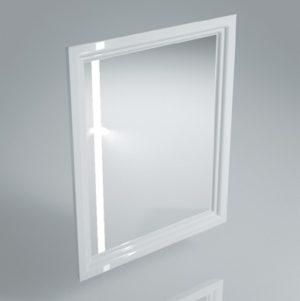 Зеркало с подсветкой и сенсором POMPEI 60 см WHT