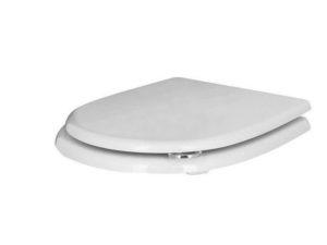 Сиденье для унитаза, c микролифтом, белый-хром IMAGINE Noken 100093860-N383000009