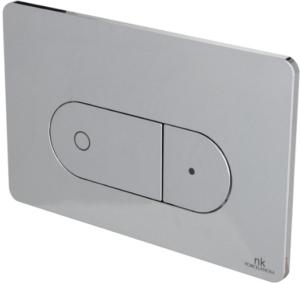 Двойная кнопка смыва SMART LINE OVAL, хром Noken 100104502-N386000003