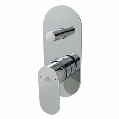 Наружная часть встроенного смесителя для ванны/душа HOTELS SING, хром Noken 100123914-N194710550