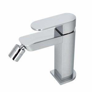 Однорычажный смеситель для биде с керамическим картириджем Ø25 мм HOTELS, хром Noken 100126420-N194710555