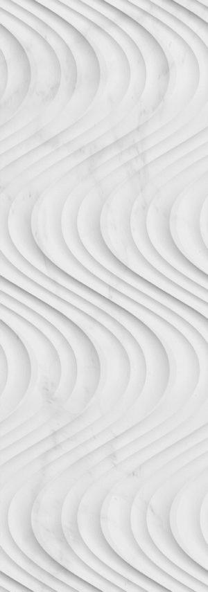 Плитка керамическая 31,6x90 Carrara Creta Blanco
