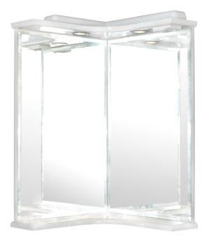 ZU45 - зеркало настенное угловое для ванной комнаты Akva Rodos