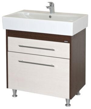 Шкаф СТУДИО 75 под умывальник для ванной с умывальником меб. 75x46см Akva Rodos